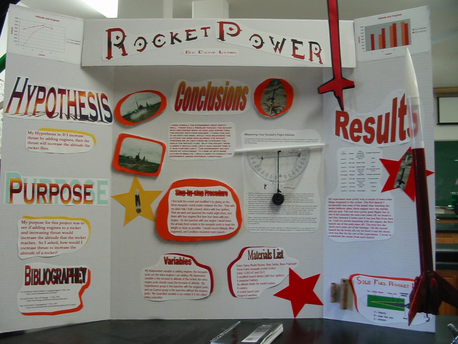 winning high school science fair projects